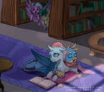 Commission - Ocellus x Gallus  by riukime