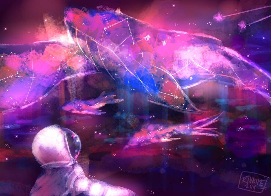 Ocean Galaxy  by riukime
