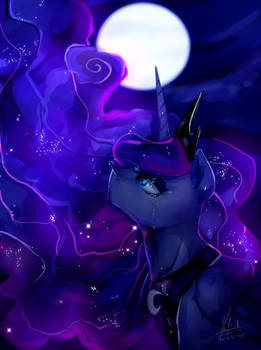 MLP:FIM Princess Luna - Tears