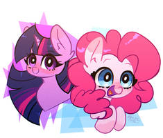MLP: Twilight  Pinkie  by riukime