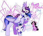 MLP:OC - Happy Father's Day~! ( thank u for 1.6K!)