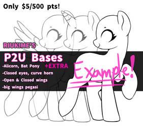 MLP: P2U Pony Base BUNDLE