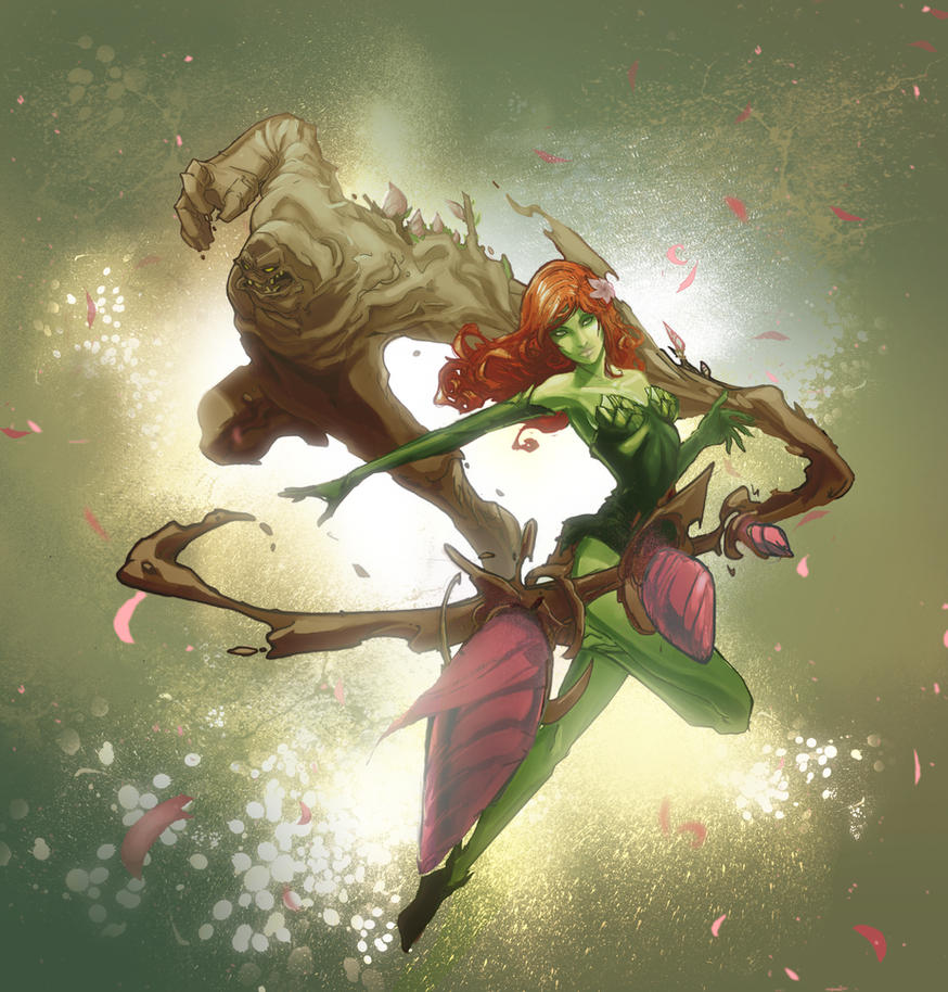 Poisin Ivy  Clayface Colored by Peter-v-Nguyen