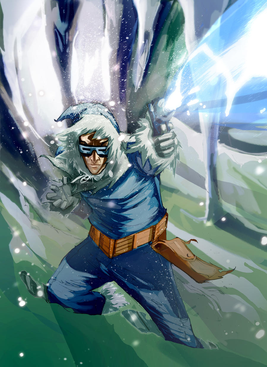 Captain Cold by Peter-v-Nguyen