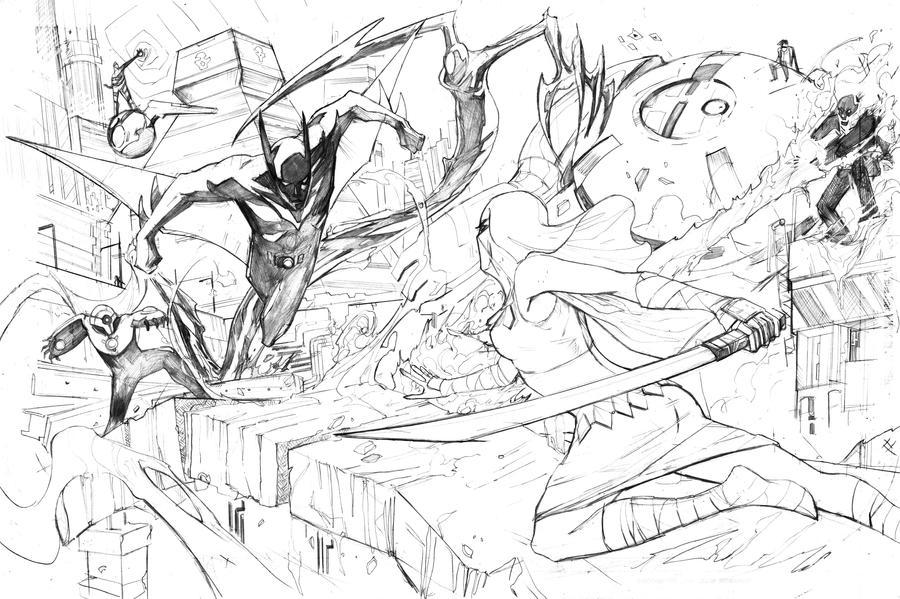 Batman Beyond by Peter-v-Nguyen