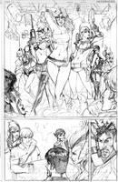 Super Villian Team up ...sTriP by Peter-v-Nguyen