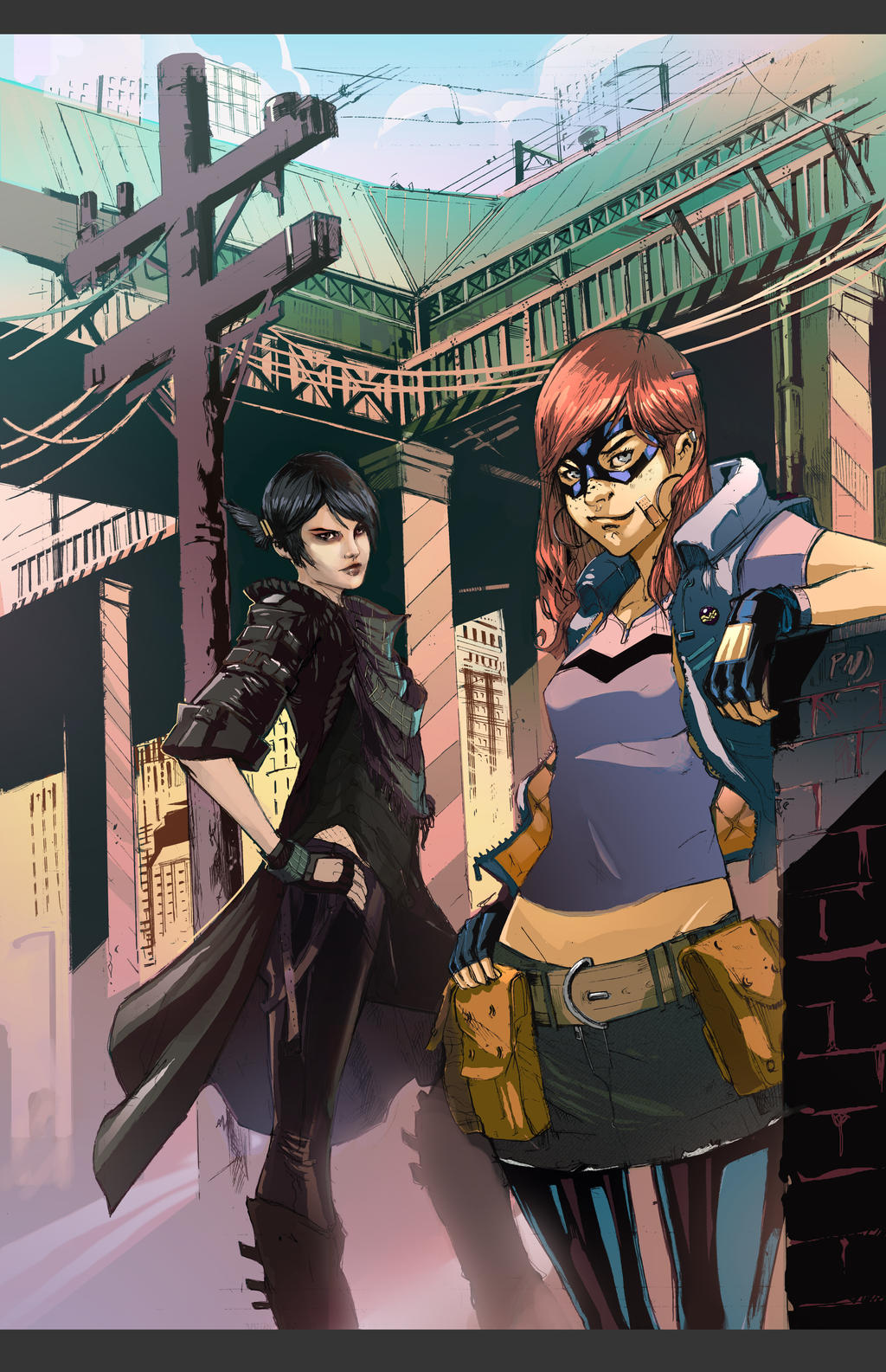 Misfit and Alice in Color by Peter-v-Nguyen