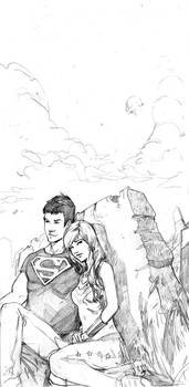 Superboy and Wondergirl
