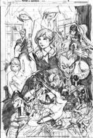 Gotham City Sirens 13 pg 5 by Peter-v-Nguyen
