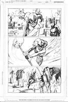 Gotham City Sirens 13 pg 3 by Peter-v-Nguyen