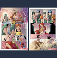 inhuman preview pages by Peter-v-Nguyen