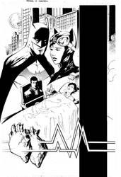 Bruce Wayne - TRH Catwoman pg1 by Peter-v-Nguyen