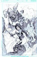 Wonder woman vs by Peter-v-Nguyen