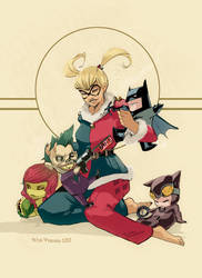 have a HARLEY christmas by Peter-v-Nguyen