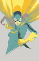 Batgirl o7 by Peter-v-Nguyen