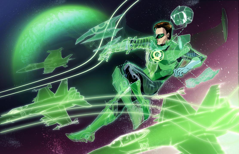Hal Jordan Space Pilot by Peter-v-Nguyen