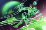 Hal Jordan Space Pilot