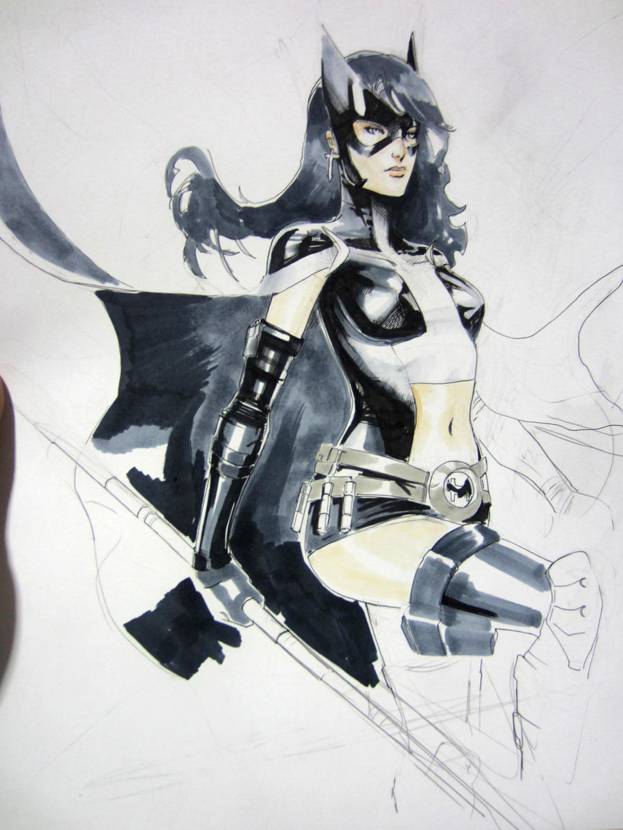 Huntress australia WIP by Peter-v-Nguyen