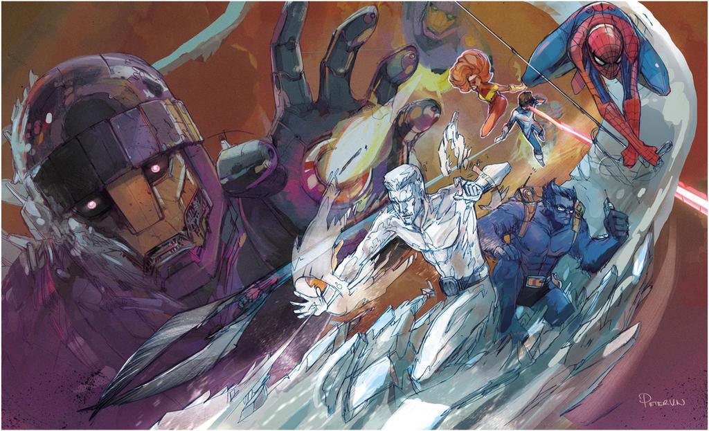 Iceman and Friends by Peter-v-Nguyen