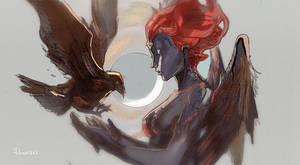 Raven Darkholme aka Mystique