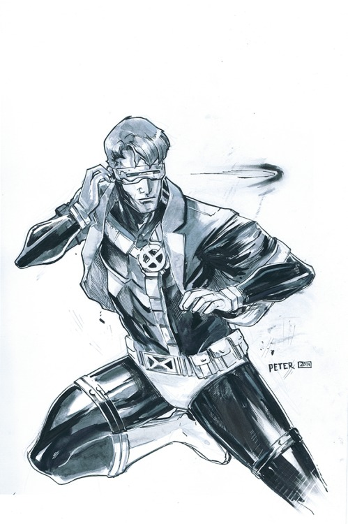 cyclops and his favorite jacket by Peter-v-Nguyen