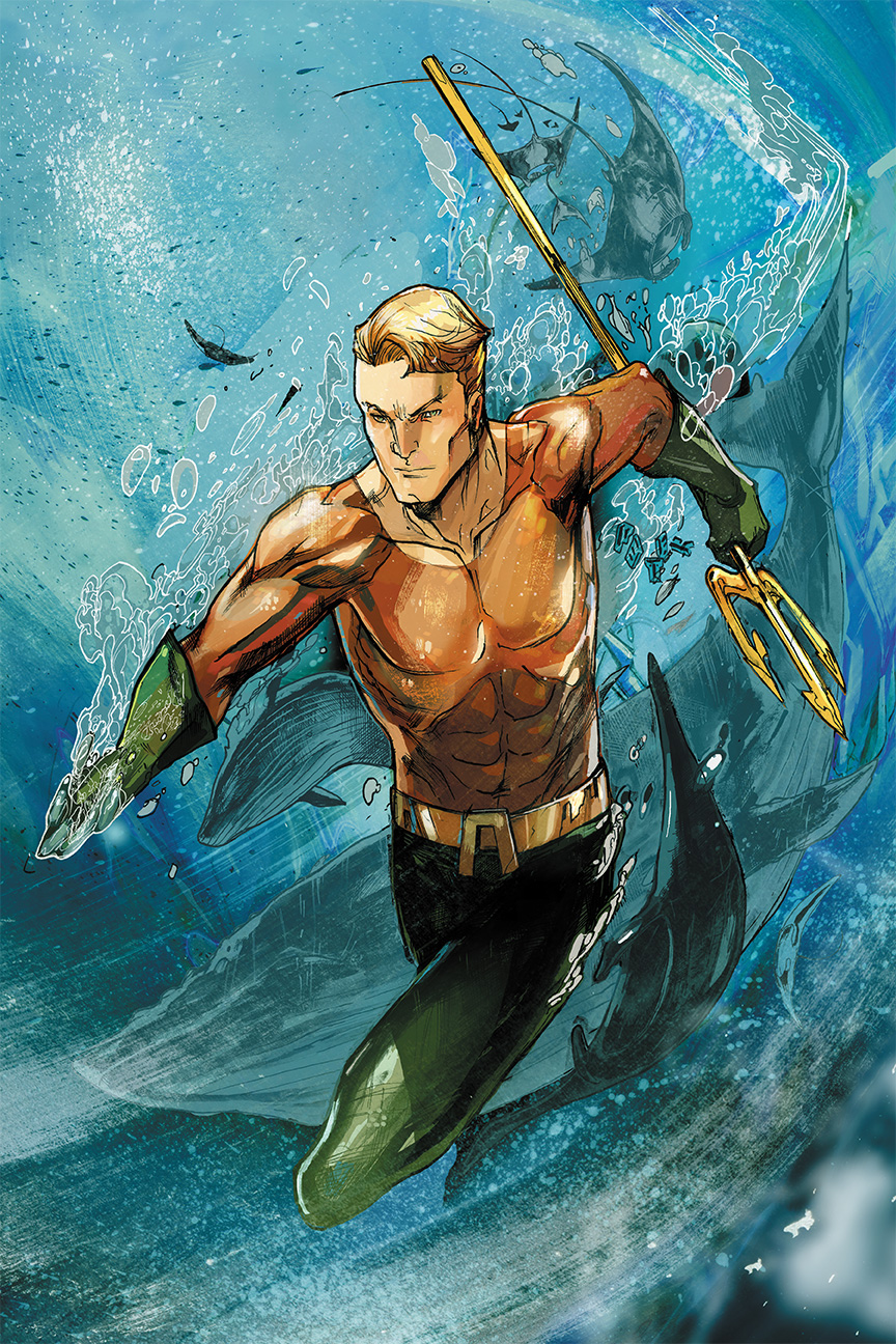 Aquaman by Peter-v-Nguyen