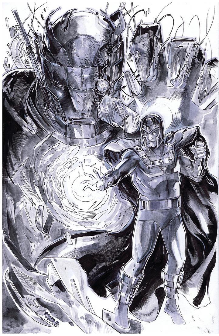 Magneto tones by Peter-v-Nguyen