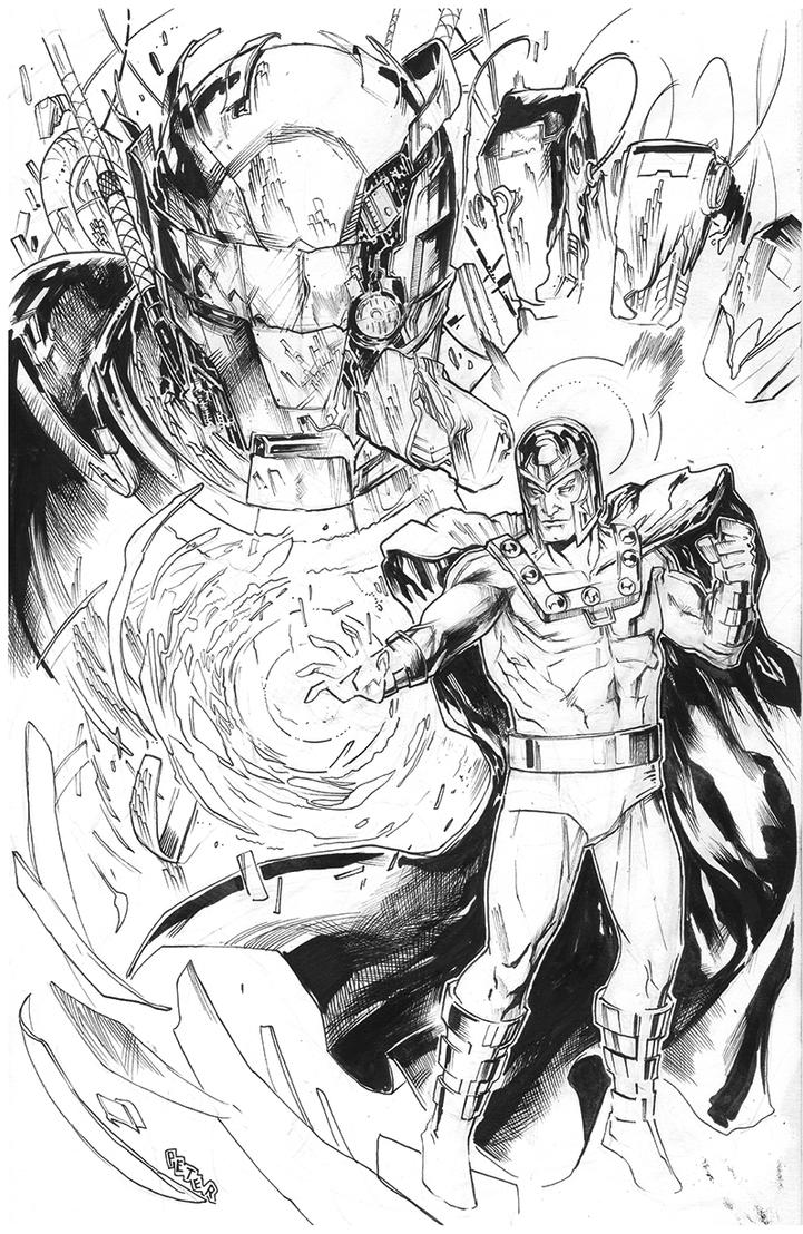 magneto inks by Peter-v-Nguyen