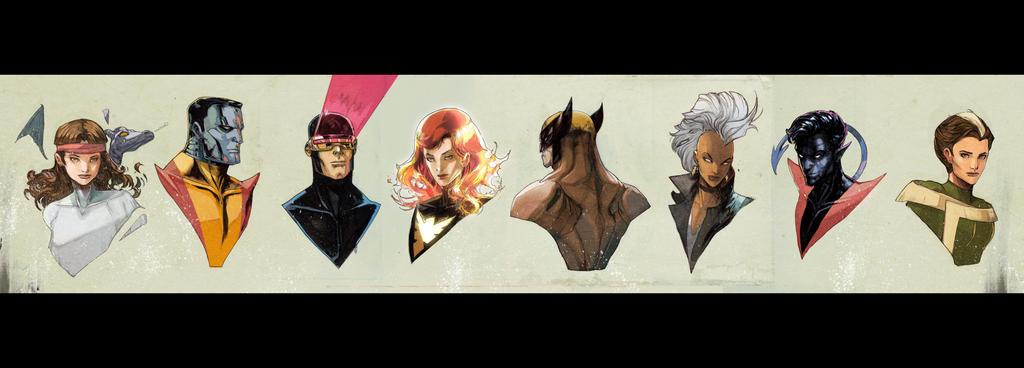X-men by Peter-v-Nguyen