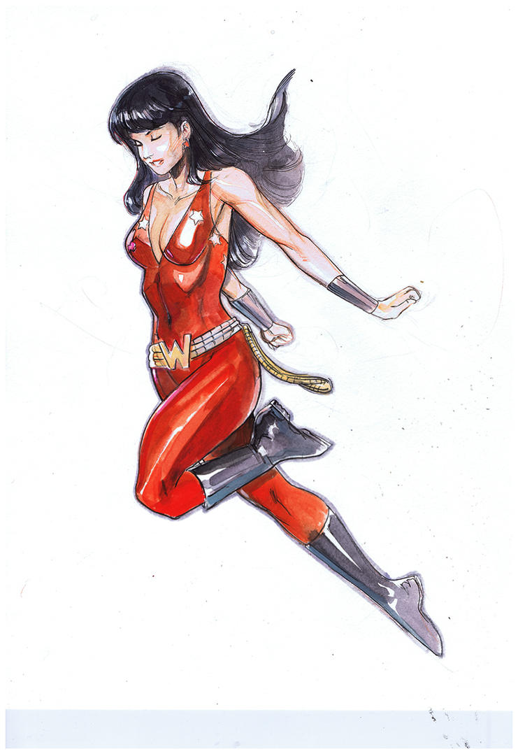 donna troy by Peter-v-Nguyen