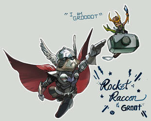 roor and groki by Peter-v-Nguyen