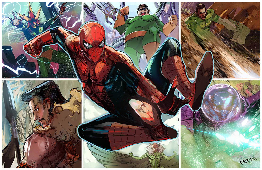 spiderman by Peter-v-Nguyen