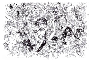Every 90s x-woman ever by Peter-v-Nguyen