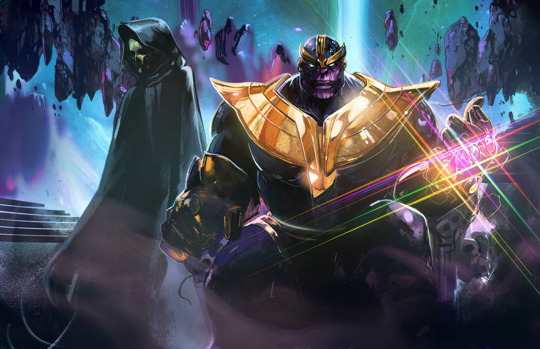 Thanos by Peter-v-Nguyen