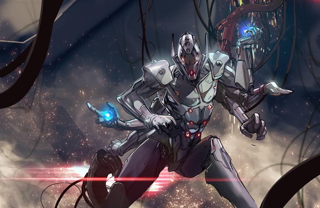Ultron by Peter-v-Nguyen