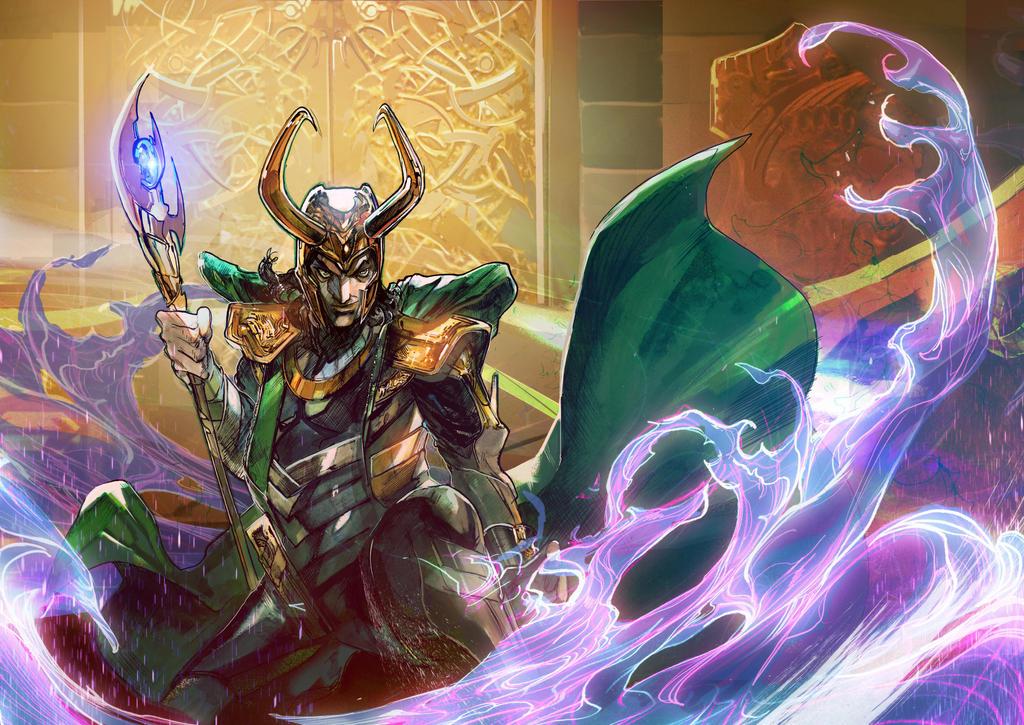 Loki by Peter-v-Nguyen