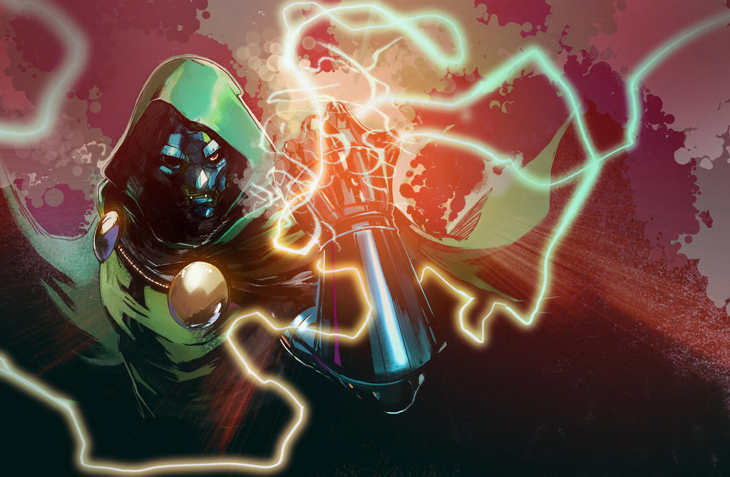 Doctor doom by Peter-v-Nguyen