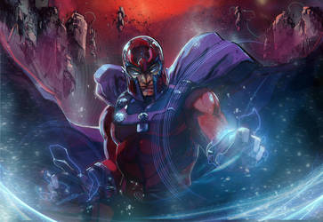 magneto master of magnetism by Peter-v-Nguyen
