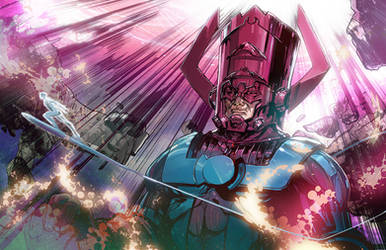 Galactus by Peter-v-Nguyen