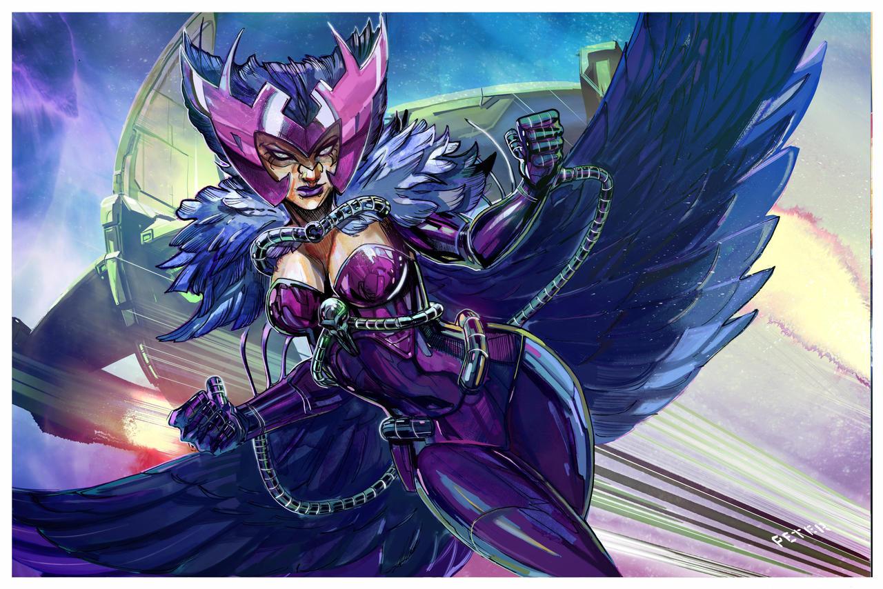 Deathbird true queen of the shiar