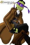 TMNT AU - Steampunk Donatello