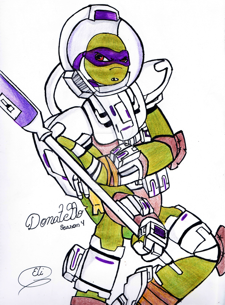 tmnt space suit donatello by elihedgie95