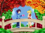 Mega Man Valentine: Rock declares to Roll
