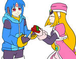 Megaman ZX: Praire and Thetis Valentine
