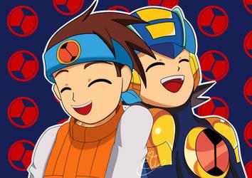 RE - Happy Birthday Hikari Bros 2020 by ElizaVDraws