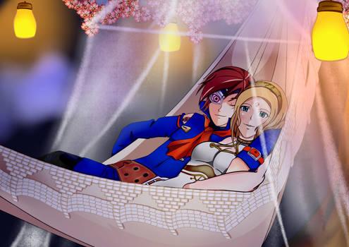 Skies of Arcadia : Vyse and Fina Valentine