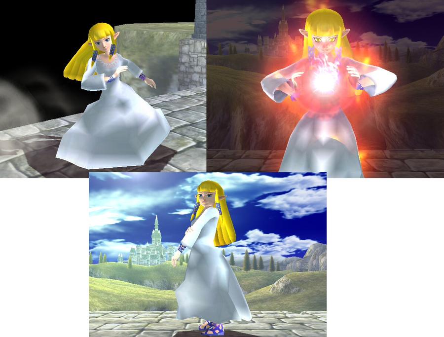 Legend Zelda Skyward Sword Goddess By Lunalle – Fondos de Pantalla