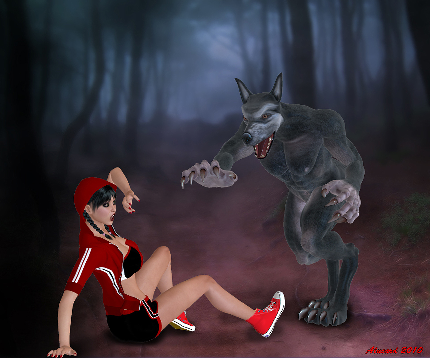 Little red riding hood vore 3d xxx comics