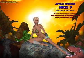 Nikki 7 Space Ranger concept cover art by AlucardsSpirit