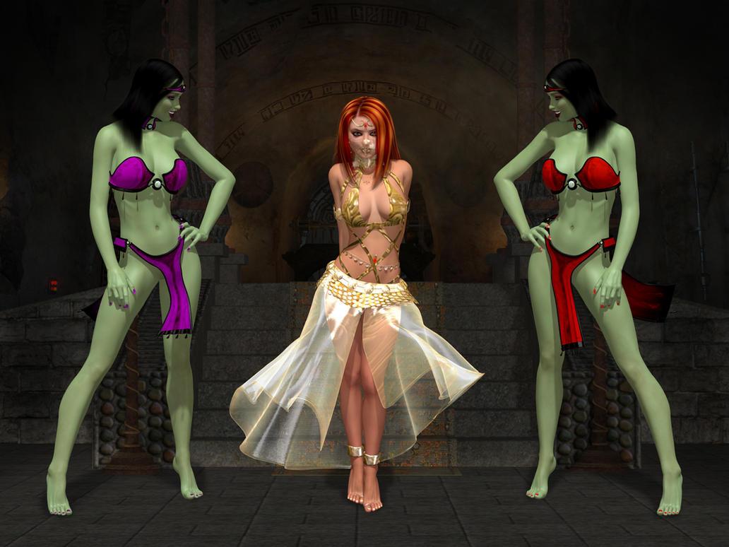 Sci fi sex slave nude image